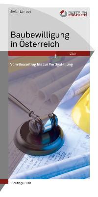 Cover Baubewilligung in Österreich