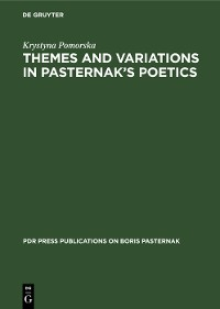 Cover Themes and Variations in Pasternak's Poetics