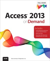 Cover Access 2013 on Demand