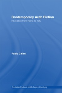Cover Contemporary Arab Fiction