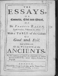 Cover The Essays
