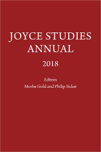 Cover Joyce Studies Annual 2018