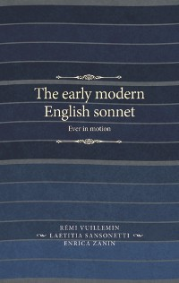 Cover The early modern English sonnet