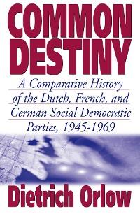 Cover Common Destiny