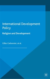 Cover International Development Policy: Religion and Development