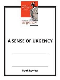 Cover A Sense of Urgency