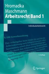 Cover Arbeitsrecht Band 1