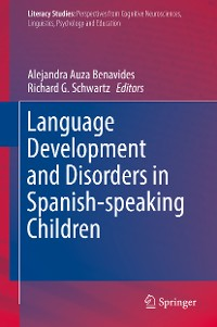 Cover Language Development and Disorders in Spanish-speaking Children