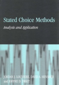 Cover Stated Choice Methods