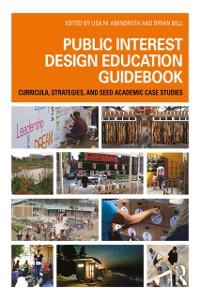 Cover Public Interest Design Education Guidebook