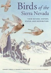 Cover Birds of the Sierra Nevada