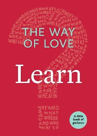 Cover The Way of Love: Learn