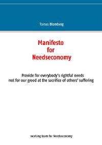 Cover Manifesto for Needseconomy