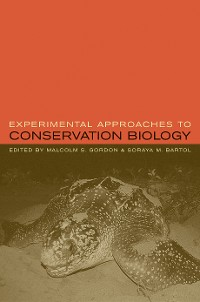 Cover Experimental Approaches to Conservation Biology