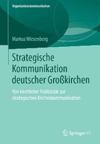 Cover Strategische Kommunikation deutscher Großkirchen