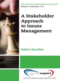 Cover A Stakeholder Approach to Issues Management