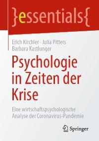 Cover Psychologie in Zeiten der Krise