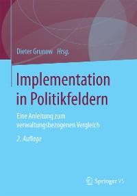 Cover Implementation in Politikfeldern