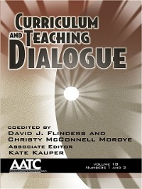 Cover Curriculum and Teaching Dialogue