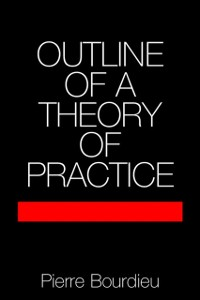 Cover Outline of a Theory of Practice