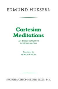 Cover Cartesian Meditations