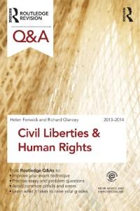 Cover Q&A Civil Liberties & Human Rights 2013-2014