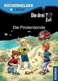 Cover Die drei ??? Kids, Bücherhelden, Die Piratenbande (drei Fragezeichen Kids)