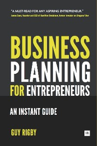 Cover Business Planning For Entrepreneurs