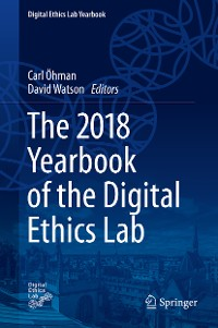 Cover The 2018 Yearbook of the Digital Ethics Lab