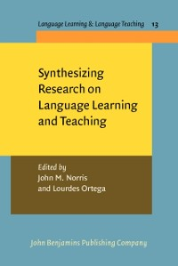 Cover Synthesizing Research on Language Learning and Teaching