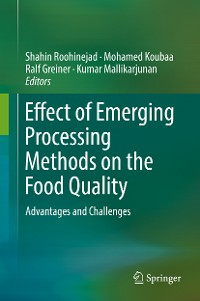 Cover Effect of Emerging Processing Methods on the Food Quality