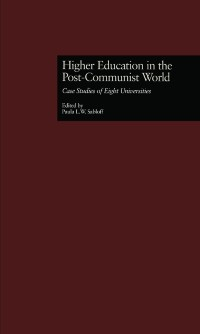 Cover Higher Education in the Post-Communist World