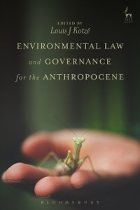 Cover Environmental Law and Governance for the Anthropocene