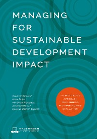 Cover Managing for Sustainable Development Impact