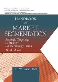 Cover Handbook of Market Segmentation