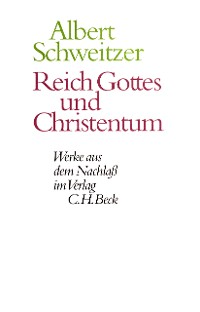 Cover Reich Gottes und Christentum