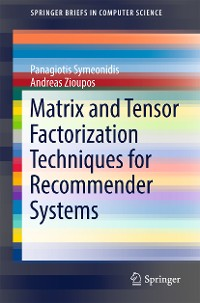 Cover Matrix and Tensor Factorization Techniques for Recommender Systems