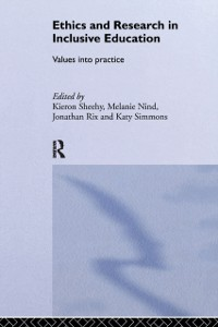 Cover Ethics and Research in Inclusive Education
