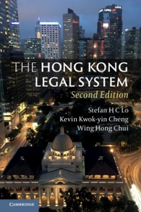 Cover Hong Kong Legal System