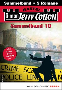 Cover Jerry Cotton Sammelband 10 - Krimi-Serie