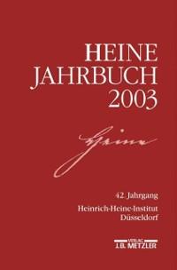 Cover Heine-Jahrbuch 2003