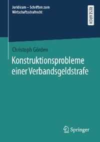 Cover Konstruktionsprobleme einer Verbandsgeldstrafe