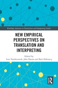 Cover New Empirical Perspectives on Translation and Interpreting