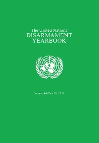 Cover United Nations Disarmament Yearbook 2019: Part II