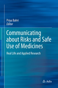 Cover Communicating about Risks and Safe Use of Medicines