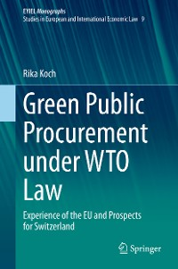 Cover Green Public Procurement under WTO Law