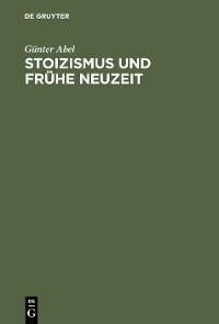 Cover Stoizismus und Frühe Neuzeit
