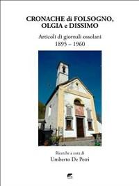 Cover Cronache di Folsogno, Olgia e Dissimo