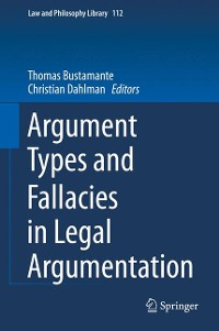 Cover Argument Types and Fallacies in Legal Argumentation