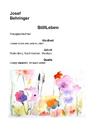 Cover Stillleben